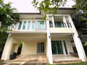 For RentHouseRama5, Ratchapruek, Bangkruai : 2 storey detached house for rent, on the main road, Ratchaphruek-Rama 5 area, near MRT Purple Line Rama 5 Circle.