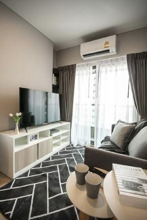 For RentCondoRama9, Petchburi, RCA : For rent Lumpini Suite Phetchaburi Makkasan. 30 sq m. Fully furnished, ready to move in on 15 October. Floor 30.1 bedroom 1 bathroom.