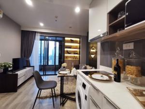For RentCondoRama9, RCA, Petchaburi : IDEO Mobi Asoke, size 35Sq.m. Beautiful condo, fully furnished, ready to move in!!