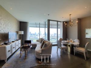 For RentCondoWitthayu,Ploenchit  ,Langsuan : *46th floor premier Royal Sports Club view 80sqm 2bed at Magnolias Ratchadamri*