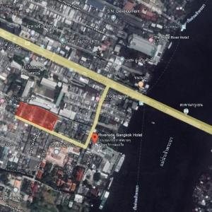 ขายที่ดินปิ่นเกล้า จรัญสนิทวงศ์ : 📍ขายที่ดิน ใกล้โรงแรม RIVERSIDE BANGKOK