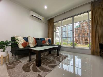 For RentCondoRatchathewi,Phayathai : Condo for rent, Baan Klang Krung Siam-Pathumwan, near BTS Ratchathewi station.