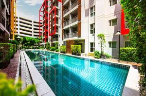 For SaleCondoOnnut, Udomsuk : (Sale-Rent) 1 Bedroom Condo in The Escape Condominium Sukhumvit 101/1