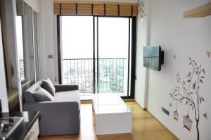 For RentCondoWongwianyai, Charoennakor : Condo for rent, Fuse Sathorn-Taksin, near BTS Wongwian Yai.