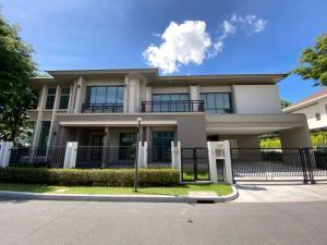 ขายบ้านปิ่นเกล้า จรัญสนิทวงศ์ : ขายบ้านเดี่ยว Grand bangkok ราชพฤกษ์-จรัญ ต้นโครงการหลังมุม