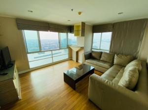 เช่าคอนโดพระราม 3 สาธุประดิษฐ์ : ให้เช่า Lumpini Park Riverside-Rama 3 / 3ห้องนอน ห้องมุมหัวอาคารวิวแม่น้ำ180องศา ชั้น34