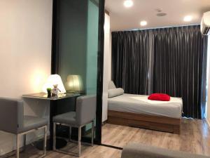 เช่าคอนโดรัชดา ห้วยขวาง : 🔥 ให้เช่าห้องสวย คอนโด Modiz รัชดา 32 ราคาลดพิเศษ ใกล้ MRT ลาดพร้าว 1 ห้องนอน เฟอร์นิเจอร์ เครื่องใช้ไฟฟ้าครบครัน เข้าอยู่ได้เลย