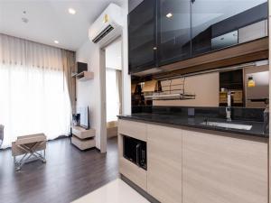 เช่าคอนโดพระราม 9 เพชรบุรีตัดใหม่ : THE LINE ASOKE RATCHADA | MRT Rama IX 300m | #RES2010 | 1BR/1BT | 34.17sqm | Floor 20 | 12m lease