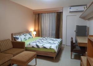 เช่าคอนโดพระราม 9 เพชรบุรีตัดใหม่ : 🔥🔥 ด่วนนน!! ห้องสวย!! พร้อมเข้าอยู่!! [ไอ เฮ้าส์ ลากูน่า]  Line : @vcassets 🔥🔥