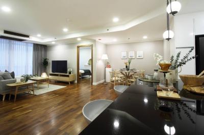 For RentCondoSukhumvit, Asoke, Thonglor : ✨For Rent Best Deal! Lavish 2 Bed Las Colinas next to Asoke MRT/BTS✨