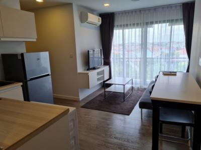 For RentCondoBangna, Lasalle, Bearing : Condo for rent, Pause Sukhumvit 103, near BTS Udom Suk.