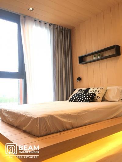For RentCondoRama9, RCA, Petchaburi : TB012_P😍The Base Garden Rama9😍**Beautiful room, fully furnished, ready to move in**