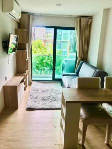 For RentCondoOnnut, Udomsuk : W0829 For rent, The Excel Hideaway Sukhumvit 50, Room size 30 sq.m. 1 bedroom 1 bathroom Building B, 4th floor, pool view, fully furnished