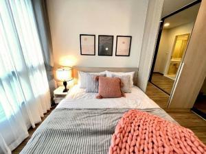 เช่าคอนโดรัชดา ห้วยขวาง : 💕 ให้เช่าห้องใหม่สวยมาก เดอะ คอลเลค รัชดา 32 เครื่องใช้ไฟฟ้าครบ ตกแต่งสวย 1 ห้องนอน พร้อมเข้าอยู่ได้เลย