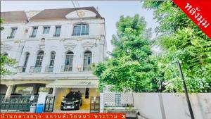 For RentTownhouseRama3 (Riverside),Satupadit : Newly Renovated 3-STOREY TOWNHOUSE at BAAN KLANGKRUNG GRANDE VIENNA RAMA 3 VILLAGE for rent, 4BR/4BA, Near Central Plaza Rama 3, Ready to move in.