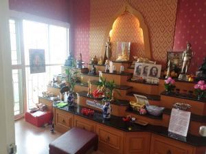For SaleHouseChengwatana, Muangthong : Single house, 5 bedrooms, full function, Sarawan Ville Village near Central Chaengwattana with peaceful atmosphere
