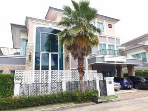 For SaleHouseEakachai, Bang Bon : Single house for Sales, Grand Bangkok Boulevard project, Sathorn-Kalapaphruek, has a pool, good condition, ready to move in.