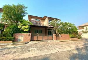 เช่าบ้านพัทยา บางแสน ชลบุรี : ให้เช่าบ้านเดี่ยว 2 ชั้น บลูเลอร์วาด 3 นอน ใกล้ J-Park บ้านพร้อมเฟอร์นิเจอร์ ศรีราชา ชลบุรี