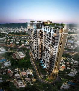 For RentCondoHatyai Songkhla : Condo ready for rent (Condo Plus 2 Hat Yai) 1 bedroom, 1 bathroom, area 30 square meters.