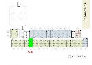 ขายดาวน์คอนโดรังสิต ธรรมศาสตร์ ปทุม : ขายดาวน์ คอนโด เคฟ ทียู ตึก A ด้านหน้าสุดติดถนน ชั้น 3 ห้อง A328 ห้องสวย 1 ห้องนอน วิวนอก  ราคา 1,590,000 บาท (ต่อรองได้) โทร.081-7539499