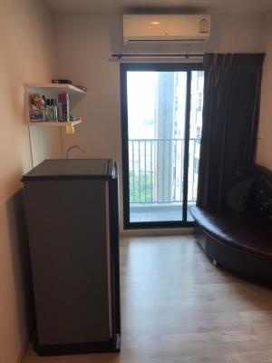 Sale DownCondoBangbuathong, Sainoi : Condo for sale, Plum Condo, Central Station, studio room, 24.39 sqm., balcony, sale with tenant, rent 5,500 baht/month, near MRT Sam Yaek Bang Yai