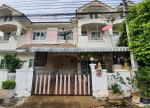 For SaleTownhouseRama5, Ratchapruek, Bangkruai : Townhouse for sale Pirom Garden Home Ratchaphruek – Rama 5 free furniture with all electrical appliances