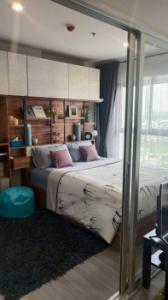 เช่าคอนโดปิ่นเกล้า จรัญสนิทวงศ์ : ให้เช่า คอนโด The Parkland จรัญฯ - ปิ่นเกล้า 31 ตรม. 1 นอน ชั้น 19 ห้องใหม่ แต่งสวย วิวดี Fully Furnished K2432