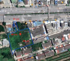 ขายที่ดินนครปฐม พุทธมณฑล ศาลายา : ขาย ที่ดินเปล่า 3-3-10.1 ถนนพระบรมราชชนนี ฝั่งขาออก