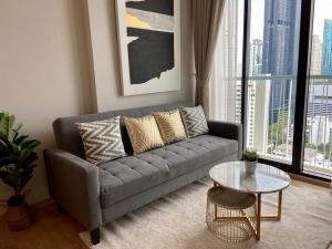 เช่าคอนโดสุขุมวิท อโศก ทองหล่อ : CONDO FOR RENT  Noble Recole Sukhumvit 19 Size : 34 sqm. 1 bedroom, 1 bathroom on 22nd  floor , rental 18,500 baht/month