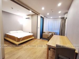 เช่าคอนโดราชเทวี พญาไท : RENT !! Condo Q Chidlom - Phetchaburi, BTS Chidlom, 1 Bed, Floor 23, 36 sq.m., Rent 20,000 .-