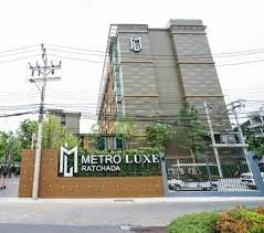 For RentCondoRatchadapisek, Huaikwang, Suttisan : Metroluxe Ratchada   For Rent plz add us at Line ID: @condo789 (with @ too)