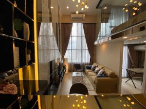For RentCondoSathorn, Narathiwat : Duplex 2 bedroom 1 bathroom, Hight floor, city view, ready to move in