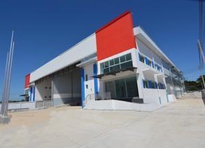 เช่าโรงงานสำโรง สมุทรปราการ : พื้นที่สีม่วง ให้เช่าโรงงาน โกดัง พร้อมสำนักงาน สร้างใหม่ นิคมบางปู ซอยเทศบาลบางปู พื้นที่ 1190 ตารางเมตร อยู่ในพื้นที่โรงงาน ขอ รง.4 ได้