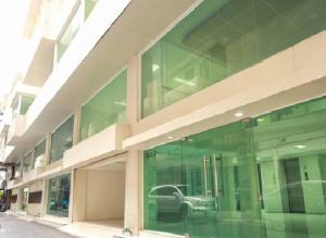 เช่าสำนักงานสาทร นราธิวาส : ให้เช่าอาคารสำนักงาน 5 ชั้น พื้นที่ 625 ตารางเมตร มีลิฟท์ ใจกลางเมือง ซอยนราธิวาส สีลม สาทร ใกล้ BTS ช่องนนทรี เดินได้ Renovate ใหม่ทั้งอาคาร