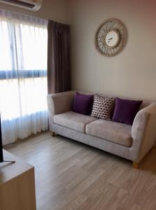 For RentCondoRama9, RCA, Petchaburi : Condo for rent at The Privacy Rama 9 Room  size 47 sqm., 2 bedrooms, 2 bathrooms on 26th floor, rental 19,000 baht/month
