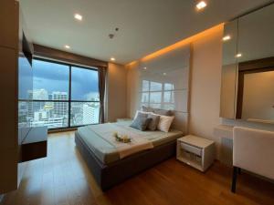 For RentCondoSathorn, Narathiwat : Covid price 1 bedroom 1 bathroom high floor beautiful view