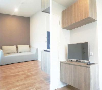 For RentCondoSamrong, Samut Prakan : LPN Ville Sukhumvit 76-Bearing Station (1) fully furnished + City view (near BTS Bearing, St.Andrews Intl School Sukhumvit 107, Imperial Samrong)