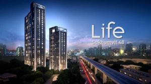 For RentCondoOnnut, Udomsuk : ❣❣ Condo for rent Life Sukhumvit 48, beautiful room, fully furnished, near BTS Phra Khanong ❣❣