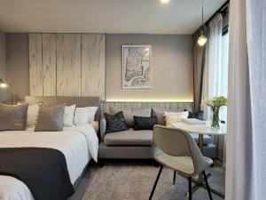 เช่าคอนโดลาดพร้าว เซ็นทรัลลาดพร้าว : 🔥 ให้เช่า ลดราคาพิเศษ คอนโด Life ladprao 💕 ห้องสวย สไตล์ Modern ตกแต่งพร้อมเข้าอยู่ได้เลย