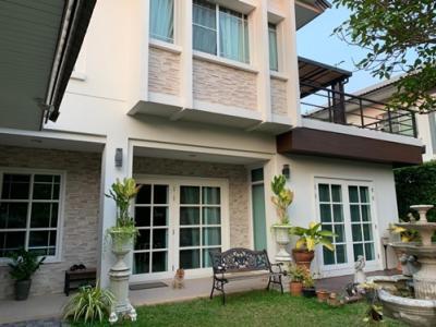 For SaleHouseChengwatana, Muangthong : NH_01056 House for sale Manthana Chaeng Wattana-Ratchapreuk