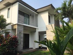 For SaleHouseRamkhamhaeng,Min Buri, Romklao : BH_01163 House for sale Habitia Panyaintra 2