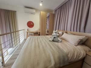 เช่าคอนโดพระราม 9 เพชรบุรีตัดใหม่ : Duplex ห้องสวย ตรงปก พร้อมอยู่ Ideo Mobi Asoke
