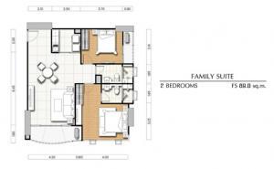 ขายดาวน์คอนโดพระราม 3 สาธุประดิษฐ์ : ***ขายดาวน์ด่วนเท่าทุน  *** 2 bed  พื้นที่ 89 sq.m. มีหลายห้องให้เลือก  ศุภาลัย ริวา แกรนด์ ราคาพิเศษที่สุด Tel.089-235-1551