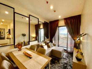 For RentCondoWongwianyai, Charoennakor : Condo for rent Niche Mono Charoen Nakorn   fully furnished