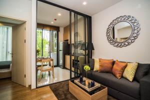 For RentCondoOnnut, Udomsuk : Condo for rent, Hasu Haus Sukhumvit 77, newly renovated room, near BTS On Nut