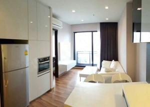 For RentCondoRatchadapisek, Huaikwang, Suttisan : Condo for rent Ivy Ampio Near MRT Thailand Cultural Centre 44sqm, high fl ,