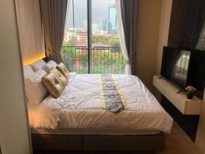 เช่าคอนโดสุขุมวิท อโศก ทองหล่อ : ให้เช่า 1 ห้องนอน ชั้น 7 ตกแต่งดีเฟอร์ครบ พร้อมอยู่ Rent 1 Bedroom Nice decoration !!