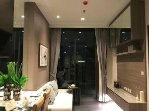 เช่าคอนโดสุขุมวิท อโศก ทองหล่อ : ให้เช่า 1 ห้องนอน ชั้น 4 ตกแต่งดี เฟอร์ครบพร้อมอยู่ - Rent 1 Bedroom  Fl.4 Fully furnished !