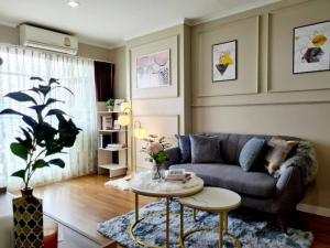 For SaleCondoRama3 (Riverside),Satupadit : W0847 Condo for sale, Lumpini Park Riverside Rama 3, 1 bedroom 1 bathroom size 35 sqm, Building C, 36th floor, fully furnished, Chao Phraya River view.