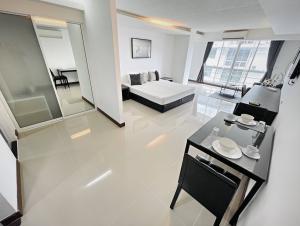 For RentCondoOnnut, Udomsuk : ⭐️THE WATERFORD S50⭐️🐶🐱BTS Onnut 1.2km | #RE0209 | 43.5sqm | Studio/1BT | Floor 7 | 6-12m lease